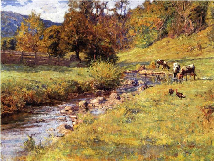 Tennessee Scene,  1899  Painting Reproductions