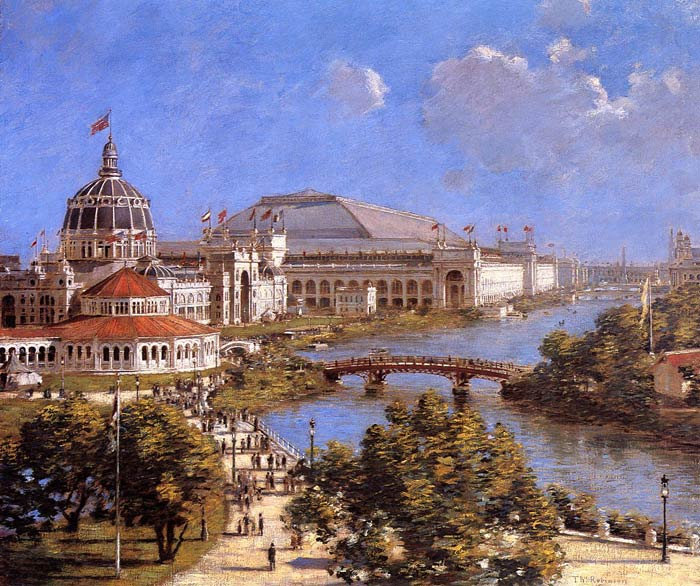 World's Columbian Exposition, 1894  Painting Reproductions