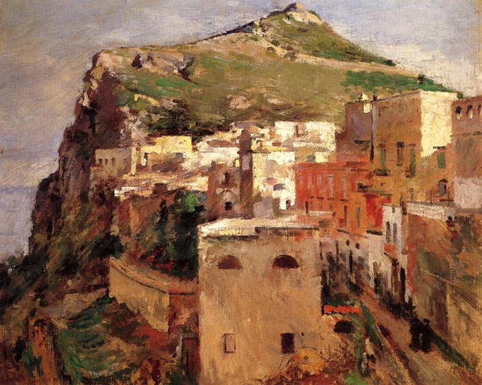 Capri, 1890  Painting Reproductions