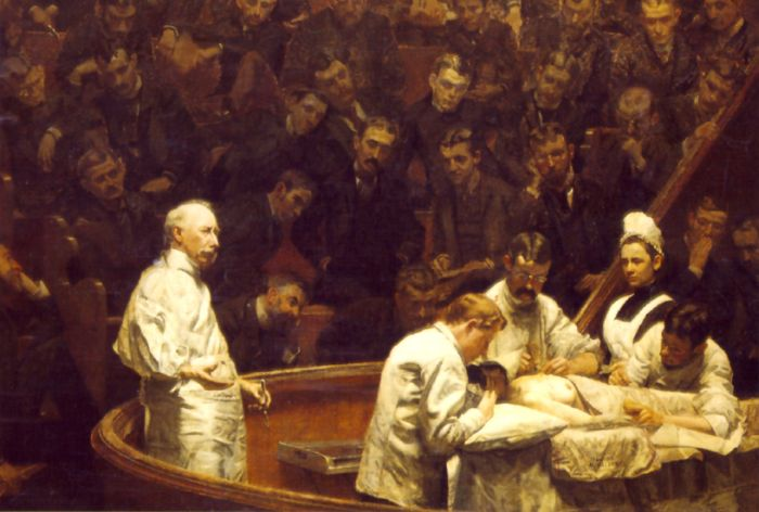 The Agnew Clinic, 1889  Painting Reproductions