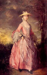 Gainsborough, Thomas Mary, Countess of Howe, 1764 Art Reproductions