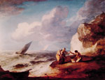 2956 A Rocky Coastal Scene Art Reproductions