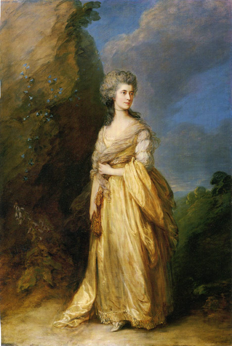 Mrs. Peter William Baker, 1781  Painting Reproductions