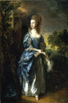 Gainsborough, Thomas The Hon. Frances Duncombe, 1777 Art Reproductions