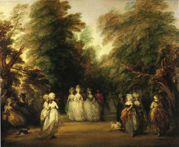 The Mall in St. James's Park, 1783  Painting Reproductions