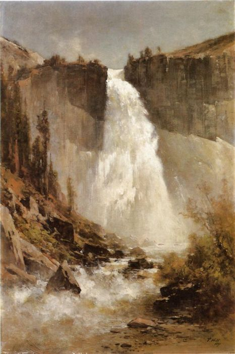 The Falls of Yosemite, 1893  Painting Reproductions