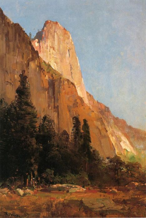 Sentinel Rock, Yosemite, 1888  Painting Reproductions