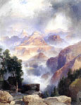 6121 A Showrey Day, Grand Canyon, 1919 Art Reproductions