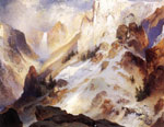 6130 Yellowstone Canyon, 1920 Art Reproductions