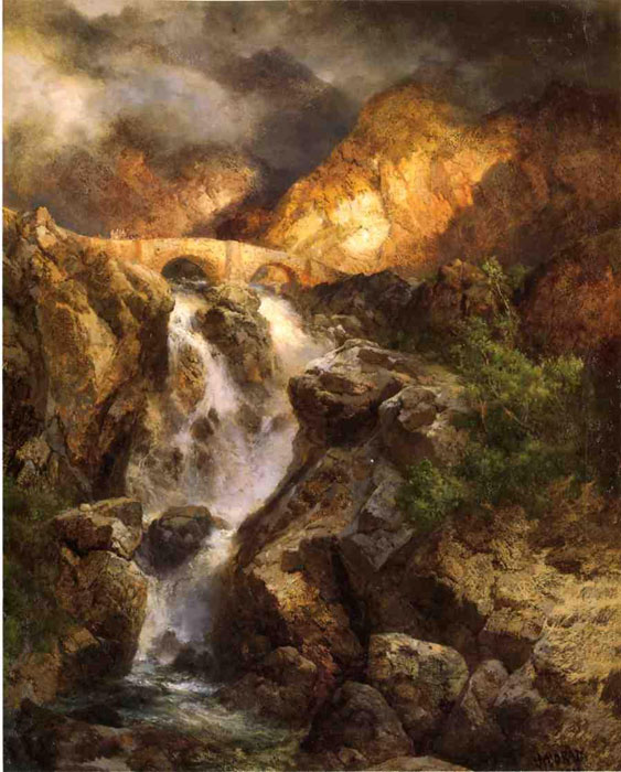 Cascading Water, 1911  Painting Reproductions