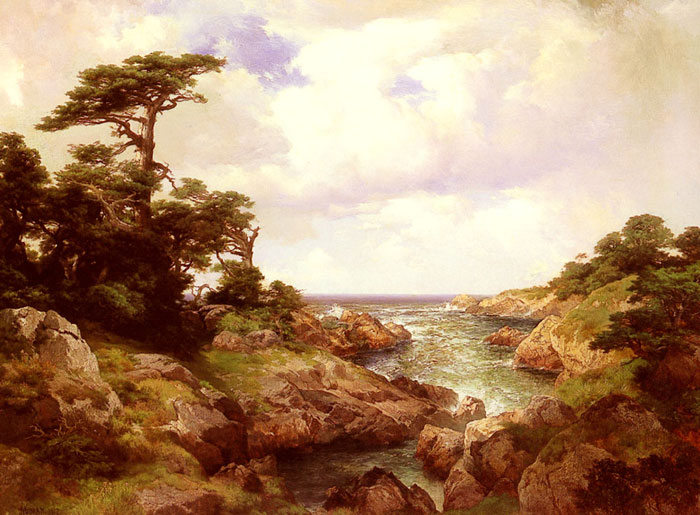 Monterey Coast, 1912  Painting Reproductions