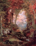 Moran, Thomas The Autumnal Woods (Under the Trees), 1865 Art Reproductions