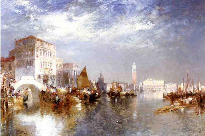 Glorious Venice, 1888  Painting Reproductions