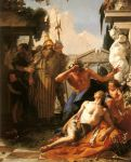 Tiepolo, Giovanni The Death of Hyacinth , 1752 Art Reproductions