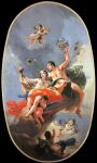 Tiepolo, Giovanni The Triumph of Zephyr and Flora  Art Reproductions