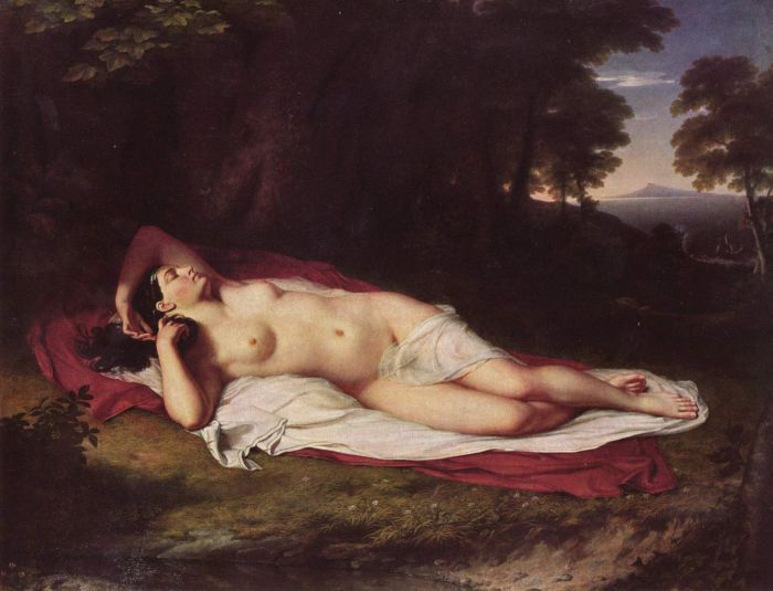 Die schlafende Ariadne auf Naxos, 1808  Painting Reproductions