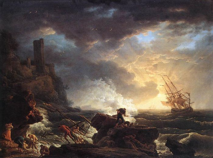 Shipwreck, 1759  Painting Reproductions