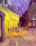 Vincent van Gogh Cafe Terrace at Night, 1888 Art Reproductions