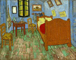 Vincent van Gogh The Bedroom, 1889 Art Reproductions