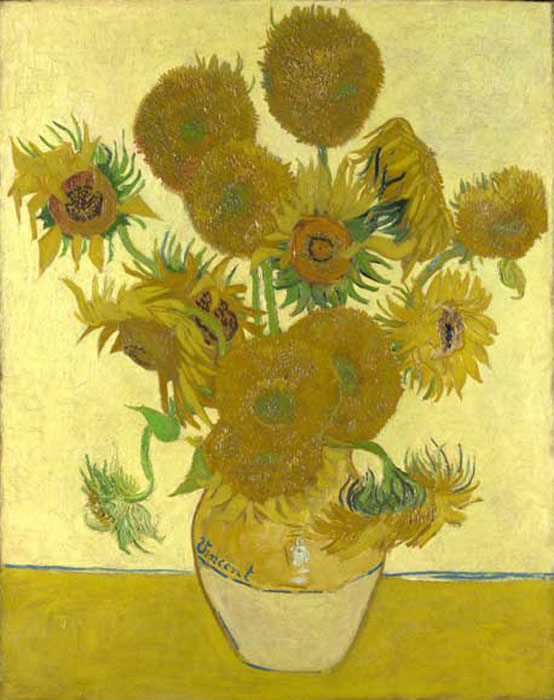 Sunflowers, 1888 Vincent van Gogh Painting Reproductions