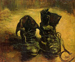 Vincent van Gogh A Pair of Shoes, 1886 Art Reproductions