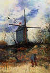 Vincent van Gogh Le Moulin de la Galette, 1886 Art Reproductions