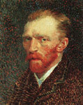 Vincent van Gogh Self-Portrait, 1886-1887 Art Reproductions