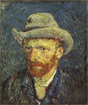Vincent van Gogh Self Portrait, 1887 Art Reproductions