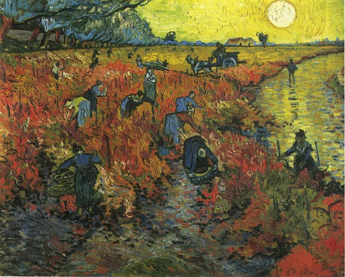 Scene in Arles, 1888 Vincent van Gogh Painting Reproductions
