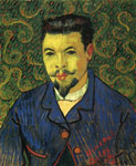 Vincent van Gogh Portrait of Dr Ree, 1889 Art Reproductions