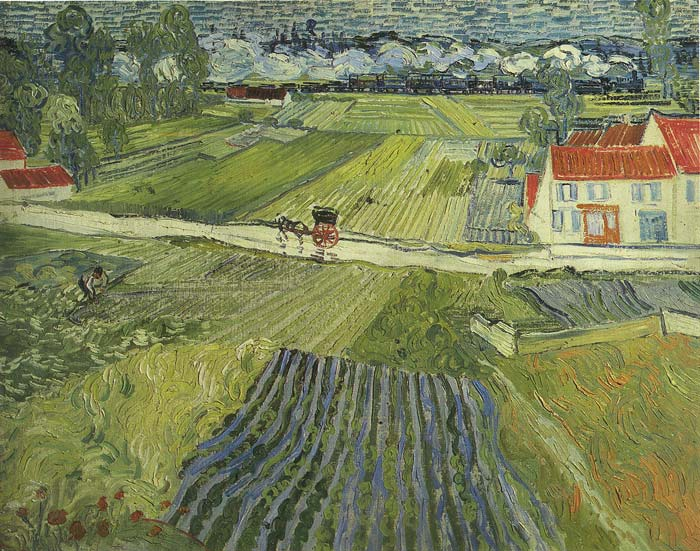 Oil Painting Reproduction of van Gogh - After the Rain