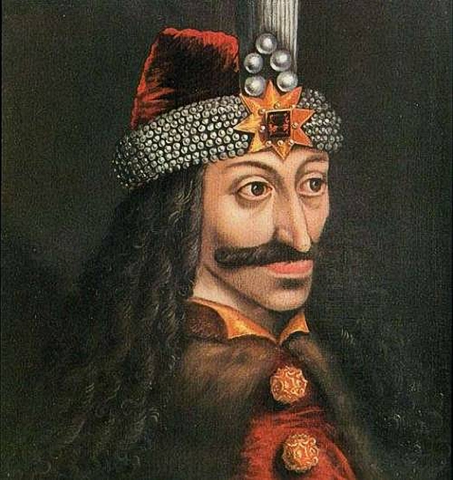 Vlad the Impaler ( with old look effect applied )  Painting Reproductions