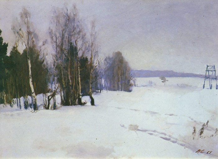 Winter, 1965  Painting Reproductions