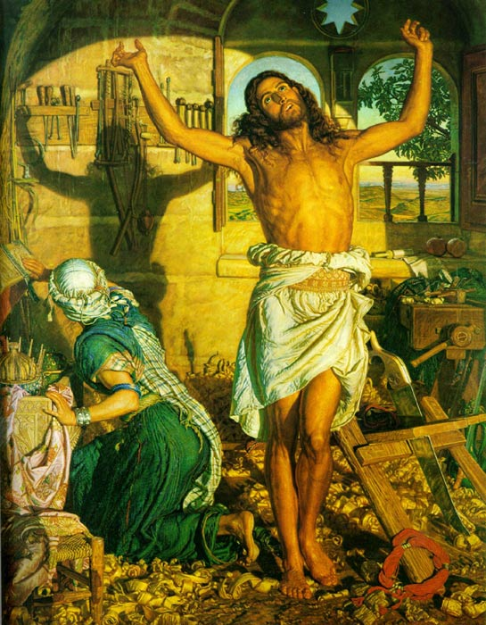 Shadow of Death, 1870-1873 Hunt, William Holman Painting Reproductions