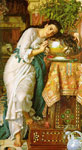 4092 Isabella and the Pot of Basil, 1867 Art Reproductions