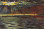 Hunt, Wiliam Holman Fishingboats by Moonlight Art Reproductions