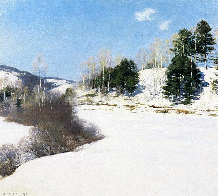 Hush of Winter, 1911  Painting Reproductions