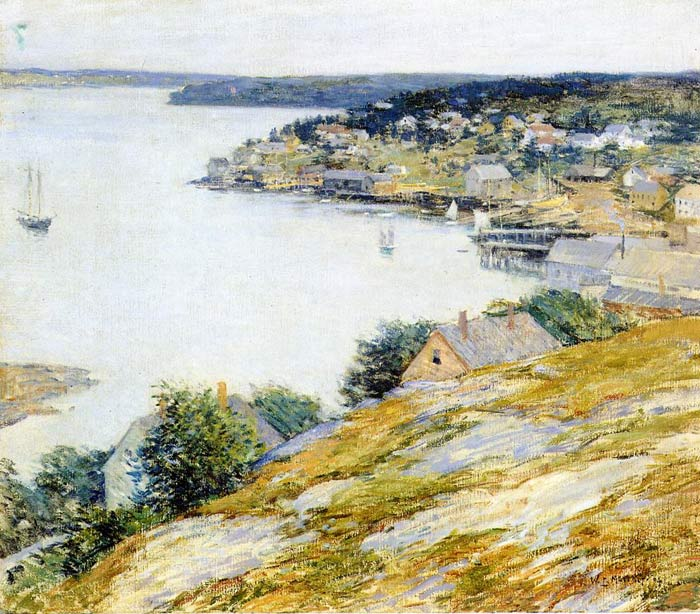 East Boothbay Harbor, 1904  Painting Reproductions