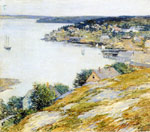 Metcalf, Willard Leroy East Boothbay Harbor, 1904 Art Reproductions
