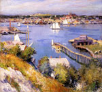 Metcalf, Willard Leroy Gloucester Harbor, 1895 Art Reproductions