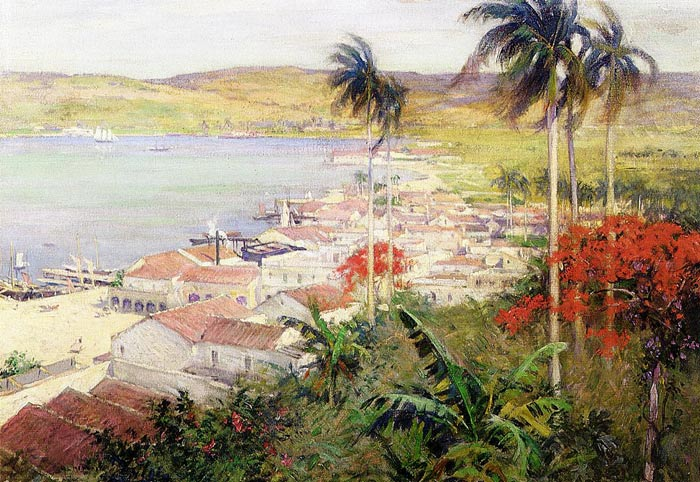 Havana Harbor, 1902  Painting Reproductions