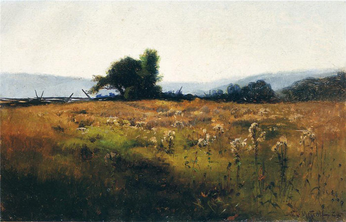 Mountain View from High Field, 1877  Painting Reproductions