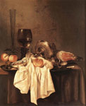 Reproductions Heda, Willem Claesz Still-Life, 1651