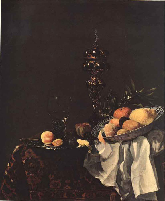 Still-life, 1650 Kalf, Willem Painting Reproductions