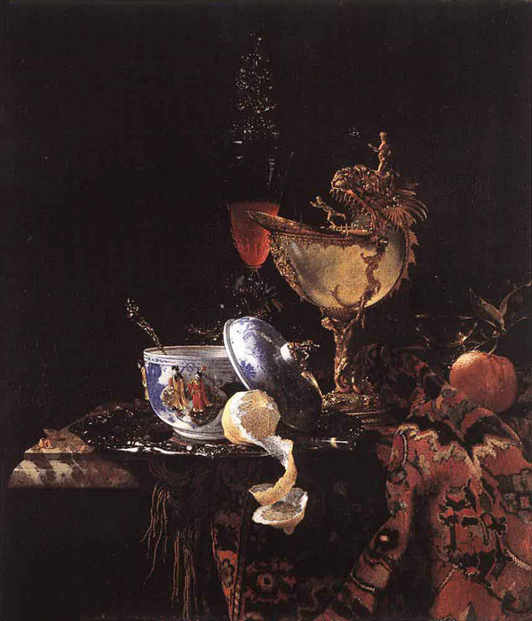 Still-Life with a Nautilus Cup, 1662  Painting Reproductions