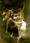 Bouguereau, William Nymphes et Satyre [Nymphs and Satyr], 1873 Art Reproductions