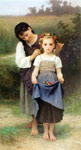 Bouguereau, William Parure des Champs [The Jewel of the Fields], 1884 Art Reproductions