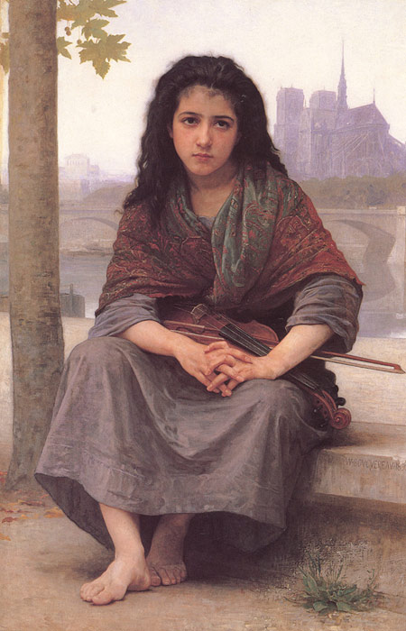 Bohemienne [The Bohemian], 1890  Painting Reproductions