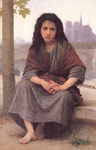 Bouguereau, William Bohemienne [The Bohemian], 1890 Art Reproductions