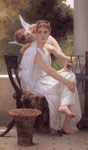 Bouguereau, William Le Travail Interrompu [Work Interrupted], 1891 Art Reproductions